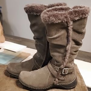 Bare traps emalyn fur boots